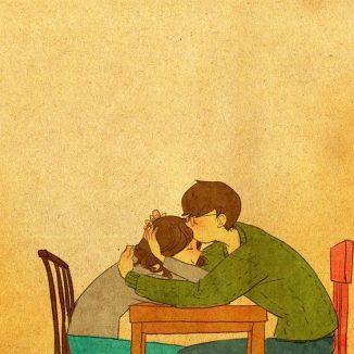 รูปการ์ตูนคู่รัก