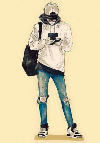 รูปการ์ตูนผู้ชาย