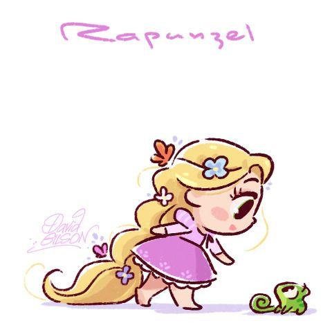 รูปการ์ตูนเจ้าหญิง Rapunzel