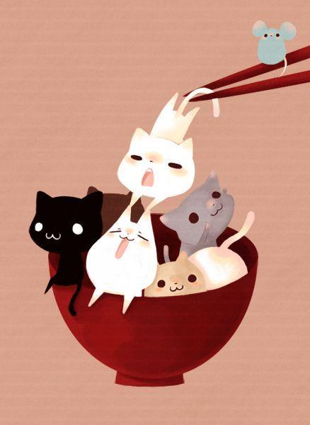 รูปการ์ตูนแมว