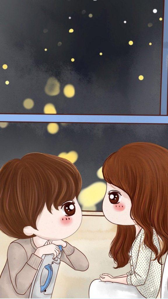 รูปการ์ตูนคู่รักน่ารักๆ