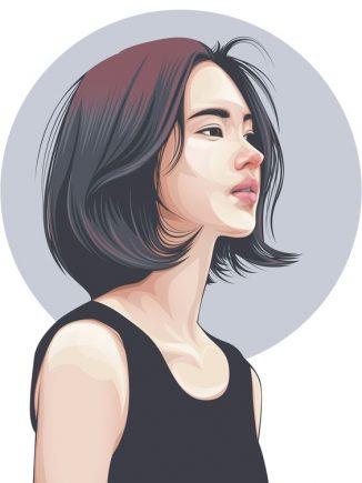 รูปการ์ตตูนผู้หญิง