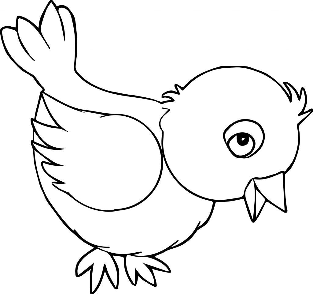 รูปการ์ตูนสัตว์ระบายสี