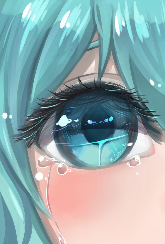รูปการ์ตูนผู้หญิงร้องไห้