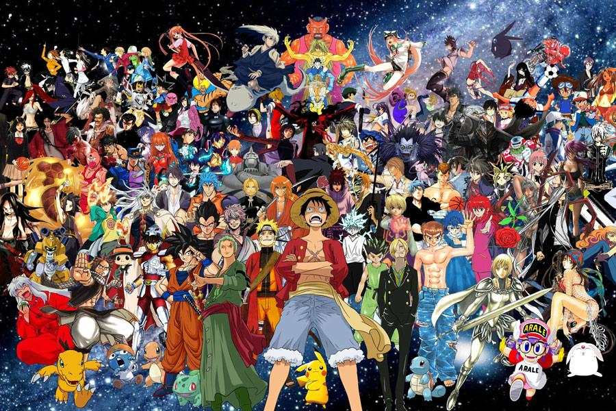รูปการ์ตูนญี่ปุ่น